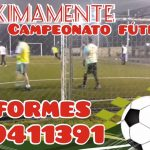 25.07.2021 Se organiza campeonato de fútbol cinco en Nacional.