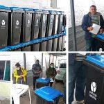 18.08.2021 Municipio entregó contenedores de basura domiciliarios a cuarenta familias